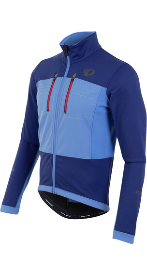 PEARL iZUMi ELITE Escape Softshell Jacket Men Blue X2